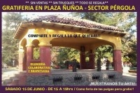 Gratiferia Plaza Ñuñoa - 15 Junio