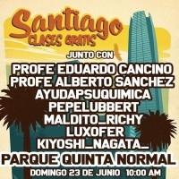 Clases al aire libre - Domingo 23 junio - Santiago