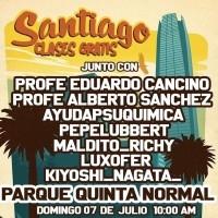 Clases al aire libre - Domingo 7 julio - Santiago