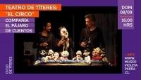 """Teatro de Títeres: """"El circo"""""""